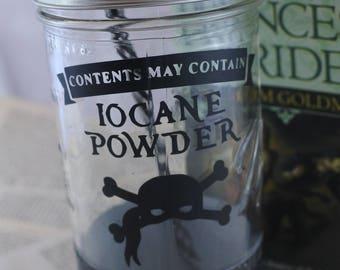 Iocane Powder Mason Jar Tumbler