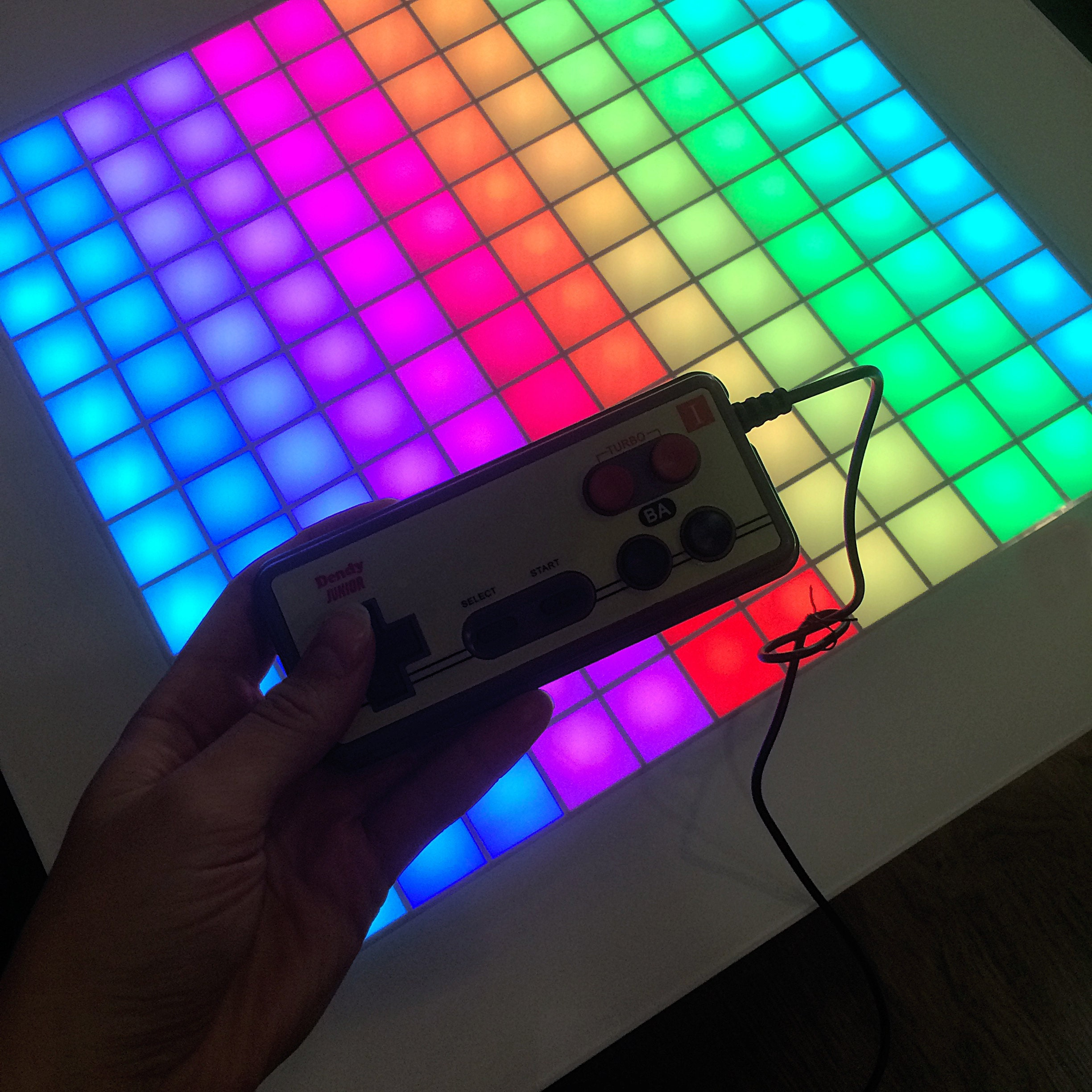 Tetris Game Table Game Coffee Table Retro Games Console Led