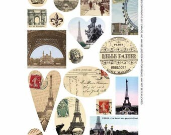 Transfer Sheet Paris for Jewellery Design