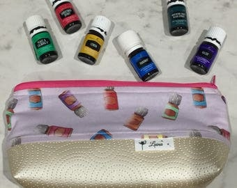 YLEO Essential Oil Bag/Essential Oil Pouch/Young Living Essential Oils Bag