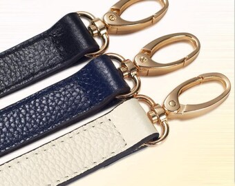 Strap you Real leather Purse Strap Replacement Strap bag handbag strap Shoulder bag Strap black leather strap white strap blue strap
