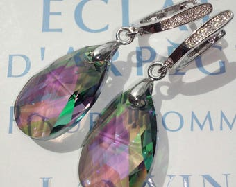 Earrings with crystals Swarovski