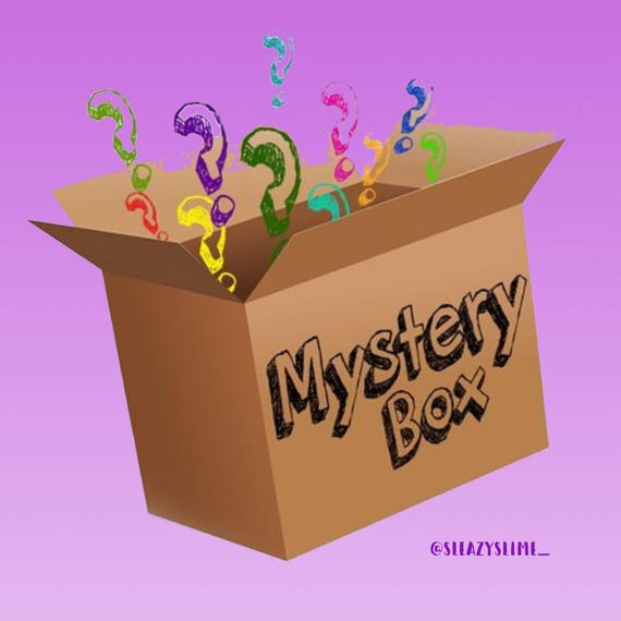 Squishy And Slime Mystery Box : Mystery Slime Box