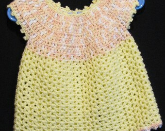Yellow Sweetie Dress