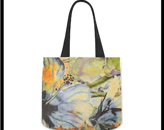 Artsy Bouquet Classic Canvas Tote Bag