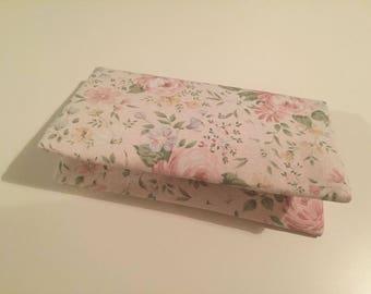 Nappy Wallet / Diaper Wallet/ Nursery Accessory/ Roses