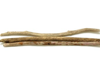 30-32 Inch Driftwood Branch - 3 pcs Long Driftwood for Crafts, Driftwood Art Piece, Wall Hanging Tapestry, Driftwood Branch, Beach Finds #61