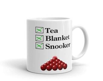 Tea, Blanket, Snooker Mug