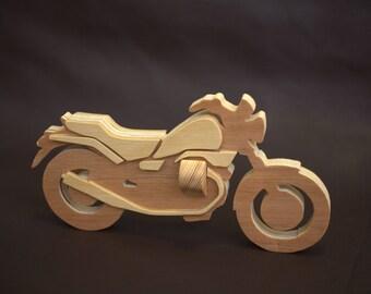 MOTO GUZZI NEVADA handmade wooden model