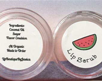 Limited Edition *Watermelon* Lip Scrubs!