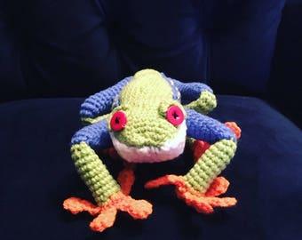 Stuffed Frog