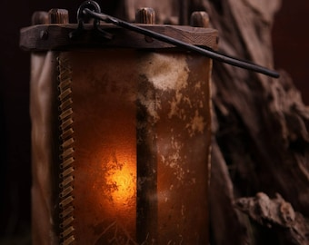 Medieval lamp- lantern