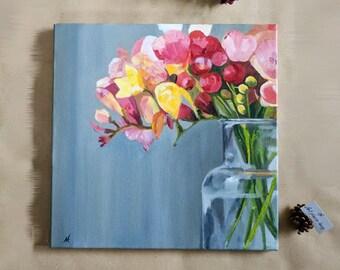 Flowers - 40х40 cm.