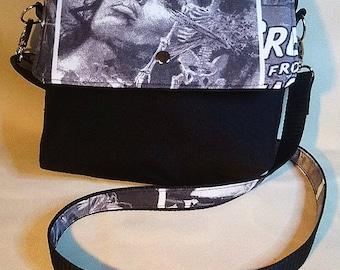 Zombie/ Horror convertible cross body/handbag