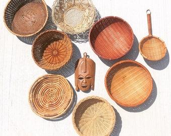 Wall Basket Set With Mask