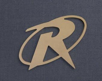 Robin Symbol, Wood Cutout, Unfinished Sign