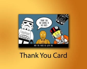 Star Wars Thank You Cards, Printable Thank You Tags, Star Wars Favor Tags, Star Wars Tags, Star Wars Gift Labels,Star Wars Party Favors