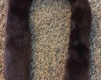 Vintage Mink fur neck wrap