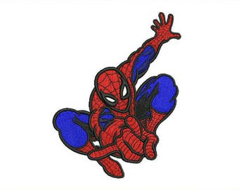 Spiderman Embroidery Design #2 - 4 SIZES