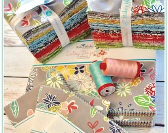 Daisy Days Fat Quarter Bundle, Fat Quarters, by Riley Blake Fabrics, Keera Job, Floral, Quilting Fabric, Cotton Fabric