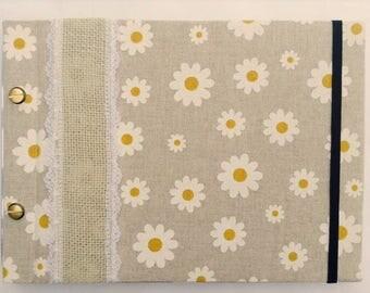 Daisy Chain Photo Album Hand Made B5 Binding Screw Refillable