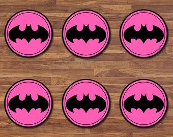 Pink Batman Etsy