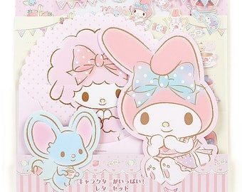 My Melody Character Type Letter Set kawaii SANRIO from Japan