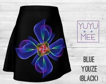 BLUE YOUZE - Women's Modern Flare Skirt