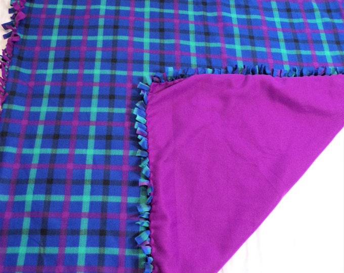 Featured listing image: Plaid Fleece Blanket