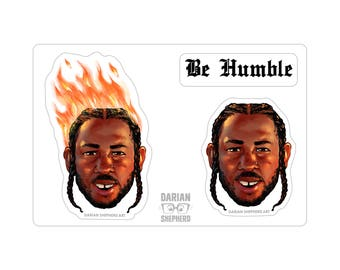 Be Humble Stickers