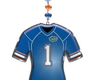 University of Florida Football Jersey MAGNETIC Ornament,Gator Dorm Decor,Uf Gators Decor,gator Ornament,Gator gift,gator nation,UF,go gators