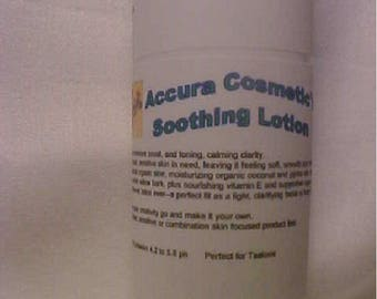 Accura Cosmetic's Soothing Lotion 10 oz. Tube
