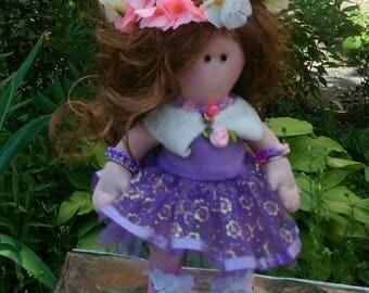 İnterior textile doll handmade