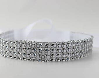 Silver Sparkle Headband