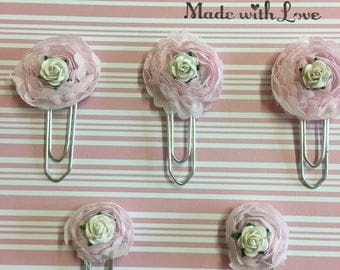 Hand made paper clips