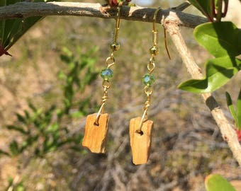 Calming Natural Stone Earrings