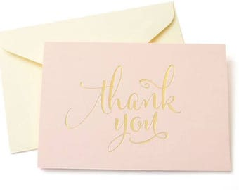 50 Shower thank you cards