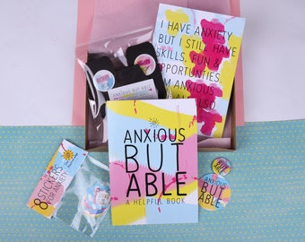 Anxiety Care Package: Anxious but Able | mental health support