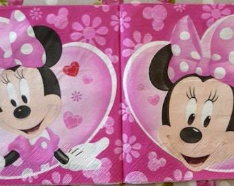 Minnie paper towel