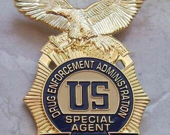 25th Anniversary Badge of the DEA