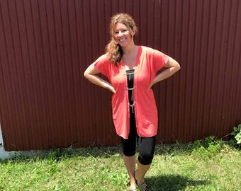 Coral Tunic: Made To Order