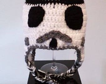 Hat crochet star wars clone
