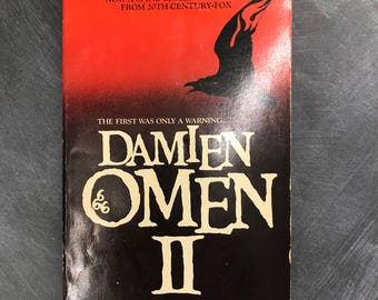 Vintage Damien The Omen 2 Book
