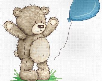 RVD1 030 Bruno Teddy bear