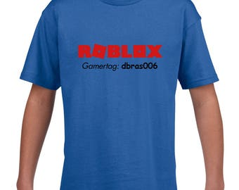 Roblox Kids shirt / With or Without Gamer tag - Made to order / Choose shirt color and size!(unofficial)