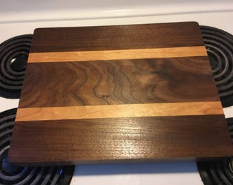 Solid hardwood cutting/cheese boards