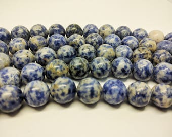 Sodalite Beads Natural Sodalite Beads Round Beads Blue Beads for Jewelry Beads Jewelry Making Mala Beads Bracelet Beads Necklace Beads