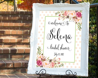 Bridal shower welcome sign, Bridal welcome sign, welcome sign, Printable bridal shower sign, Welcome wedding sign, Bridal shower sign #17
