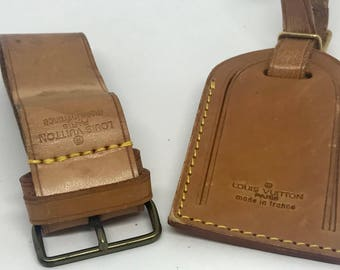 Authentic Louis Vuitton Luggage Tag-3 Pieces