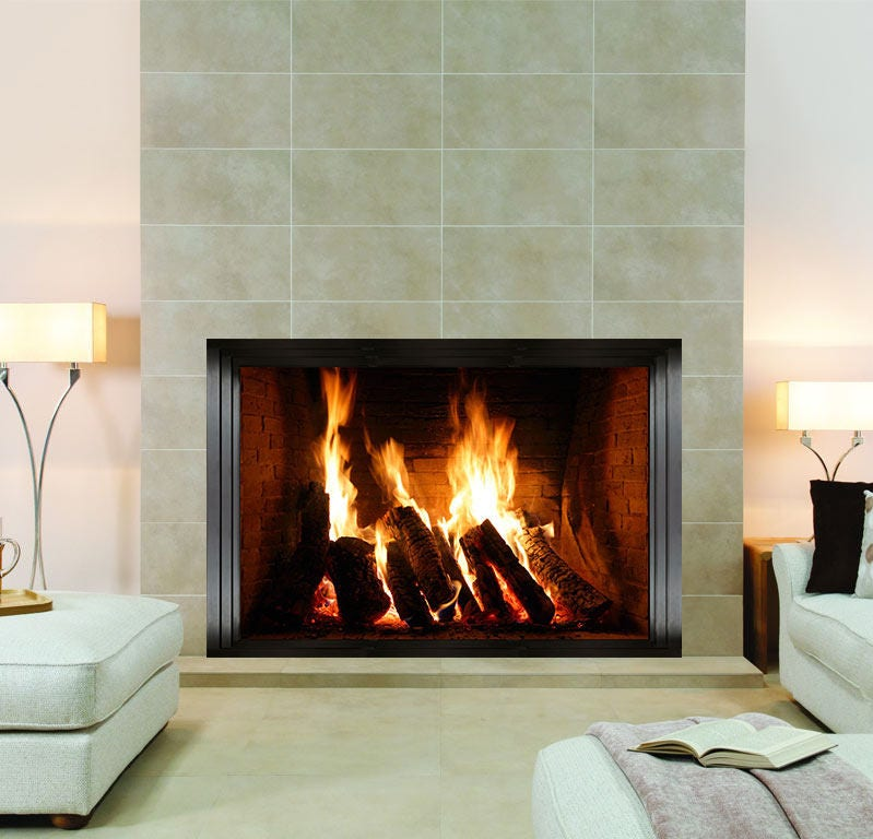 Fireplace Wall Sticker Wall Mural Wall Covering Wall Decal Wall